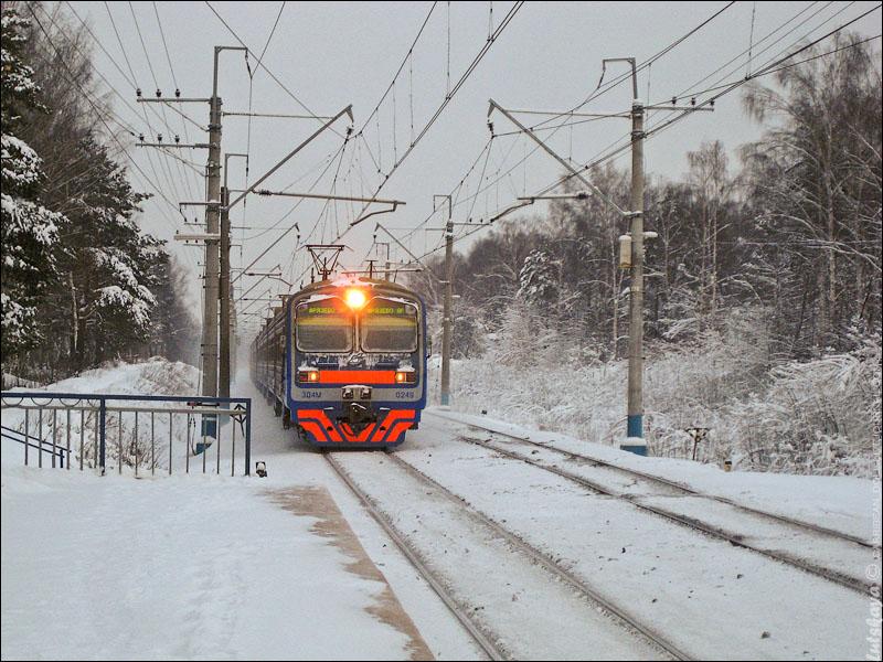 Электрички задерживаются на Рижском направлении МЖД из-за инцидента с пешеходом