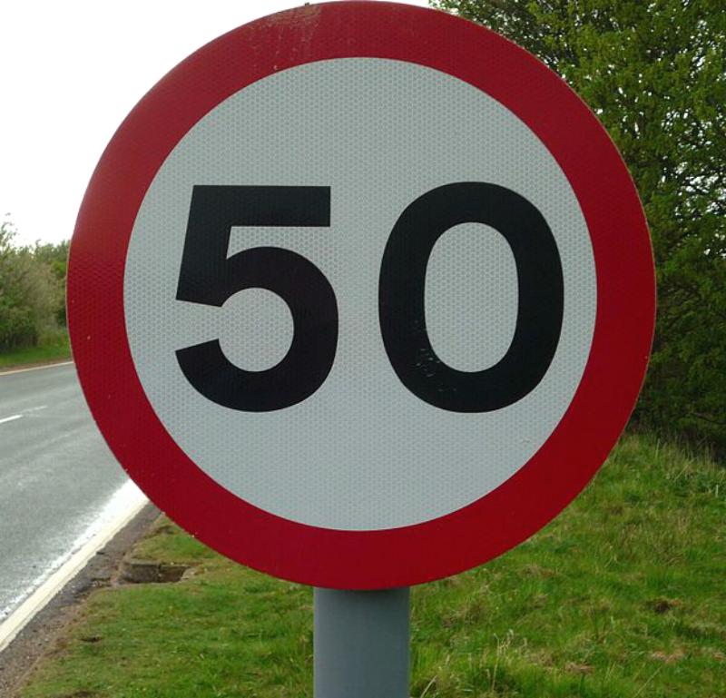 До 50 километров в час могут ограничить скорость на Волоколамском шоссе