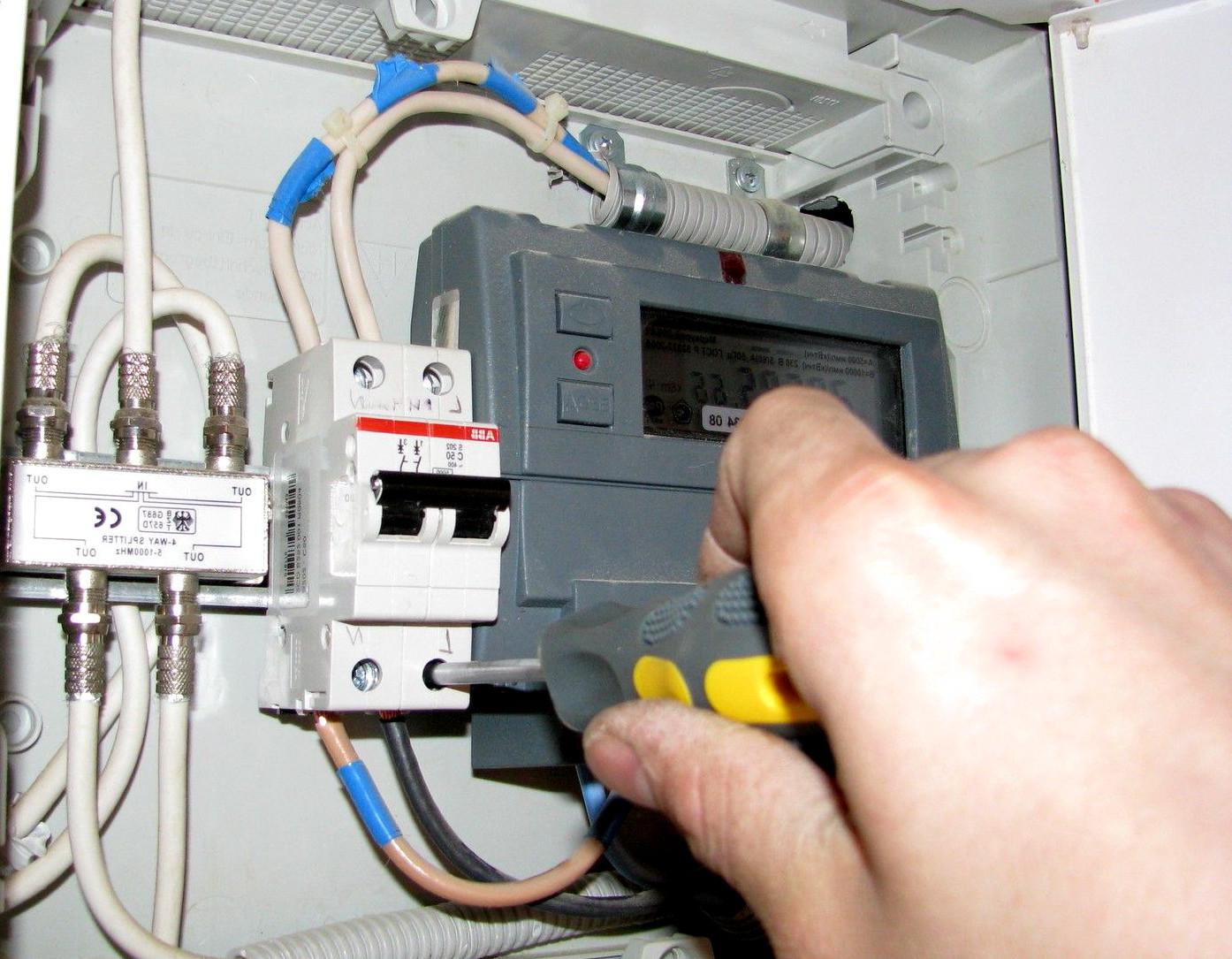Навязывание услуг по замене электросчётчиков незаконно